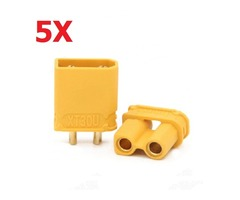 5 Pairs Amass XT30U 2mm Plug Connector Male And Female