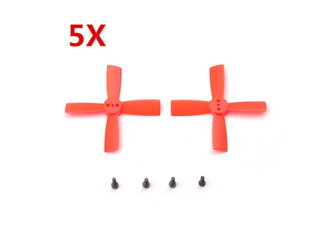 5 Pairs Eachine 2035 50mm 4 Blade Propellers ABS For Eachine Aurora 90 100 Mini FPV Racer RC Drone | Free-Classifieds.co.uk