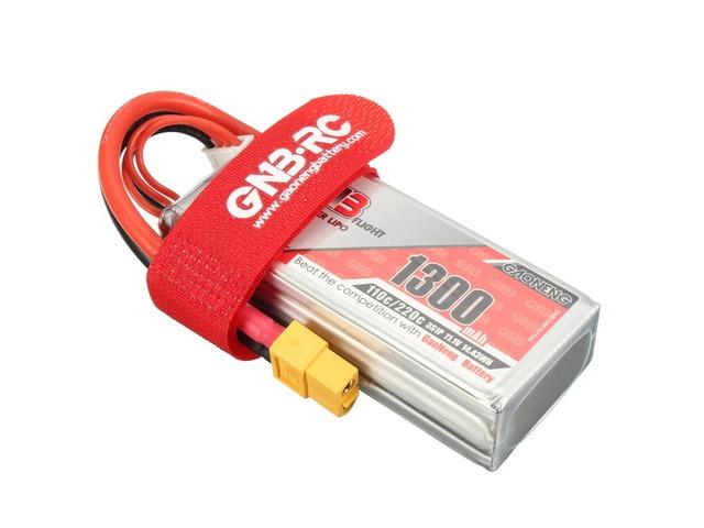 Gaoneng GNB 11.1V 1300mAh 3S 110/220C Lipo Battery XT60 Plug | Free-Classifieds.co.uk
