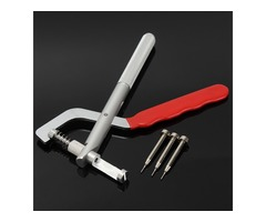 Band Bracelet Strap Link Pin Remover Removal Repair Plier Kit Tool with 3 Pins