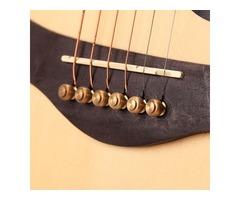 Copper Abalone Guitar Bridge Bone Pins Set Guitar Parts For Acoustic Guitar