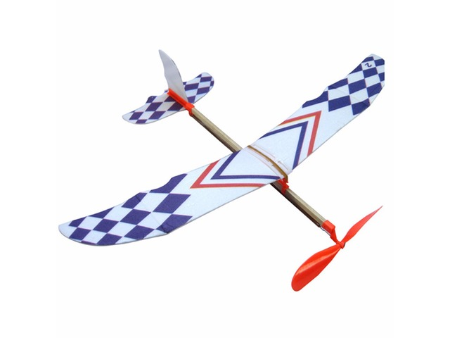 Elastic Rubber Band Powered DIY Foam Plane Kit Aircraft Model Educational Toy | free-classifieds.co.uk