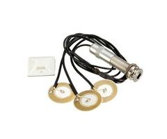 Piezo Transducer Pickup for Guitar Mandolin Ukulele Banjo Guitar Parts