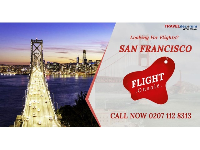 Book Cheap Flights To San Francisco from Heathrow and London San Francisco Flights | free-classifieds.co.uk