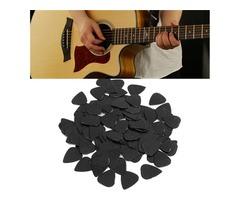 100 pcs 0.71mm Celluloid Guitar Picks For Acoustic Guitar Bass