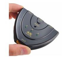 4K x 2K 3 in 1 Out Ultra HD Multimedia Interface Switch Hub Splitter TV Switcher for HDTV PC