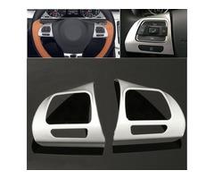 Steel Ring Wheel Chrome Cover for Volkswagen VW Golf MK6 Jetta Passat B7 CC