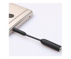 3.5mm Male to Female Stereo Audio Extension Extender Cable 8cm For Iphone Samsung HUAWEI Headphone