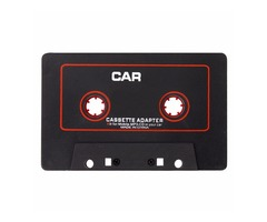 Cassette Car Stereo Tape Adapter for iPod iPhone MP3 AUX CD Player 3.5mm Jack