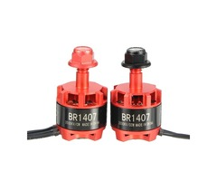 Racerstar Racing Edition 1407 BR1407 3500KV 2-3S Brushless Motor Red for 150 180 200 RC Drone FPV Ra