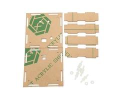 Transparent Module Case Housing Shell For Upgrade DIY EC1515B DS1302 LED Electronic Clock Kit