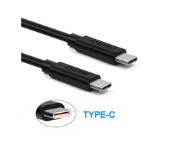 CHOETECH 2.4A USB 3.1 Type-C Male to Type-C Male 2M/6.6FT Date Charging Cable