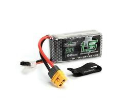 Charsoon 11.1V 1500mAh 25C 3S Lipo Battery XT60 Plug With Strap