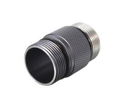 18350 Battery Body Tube Flashlight Accessories for Convoy S2+ Gray LED Flashlight
