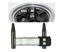 4 5 6 8 Lug Wheel Bolt Pattern Gauge Tool Quick Measuring Measurement Black