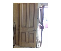 Oak Door stripping