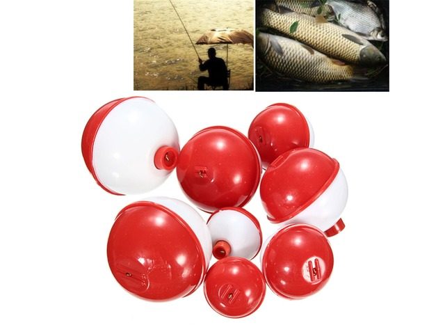 ZANLURE 8Pcs/lot Assorted Sizes Fishing Bobber Round Floats Combo Tackle Assortment. Specification: Brand:ZANLURE Material: ABS Color: White with Red Size: 2cm, 2.8cm, 3.5cm, 5.4cm Features: Assorted acces... | free-classifieds-canada.com