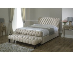 Double chesterfield headboard