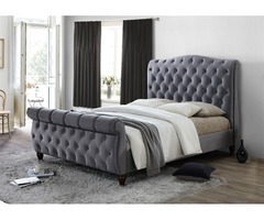 Kingsize Crushed Velvet Headboard