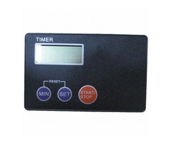 Portable Credit Card Size Digital LCD Timer Kitchen Study Kitchen Cooking Timer