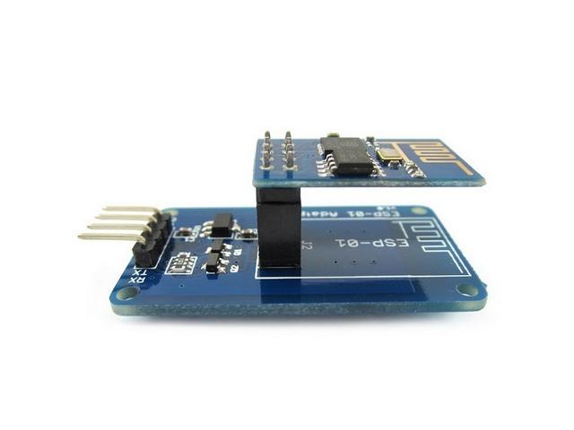 ESP-01S Adapter for Arduino ESP8266 ESP-01S WiFi Serial Transceiver Module