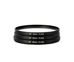 UV Ultra Violet Filter Lens Protector 52mm 55mm 58mm 62mm 67mm 72mm 77mm 82mm For Camera Canon Nikon