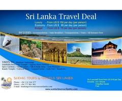 Sri Lanka Holidays TOP DEALS - 6 Nights / 7 Days
