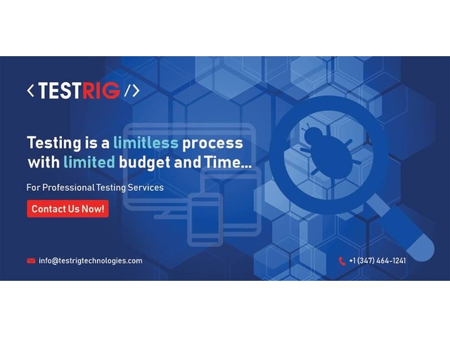Software Testing Company in UK-Testrig Technologies | FreeAds.info