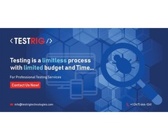 Software Testing Company in UK-Testrig Technologies