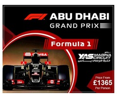 Book abu dhabi grand prix holiday packages and abu dhabi gp packages | FreeAds.info