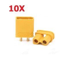 10 Pairs Amass XT30U 2mm Plug Connector Male And Female | Free-Classifieds.co.uk