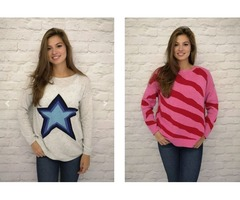 Wolesale Cashmere Star Jumper at Luella Fashion