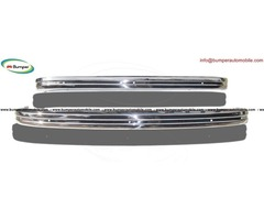 VW Type 3 bumper (1970-1973) by stainless steel