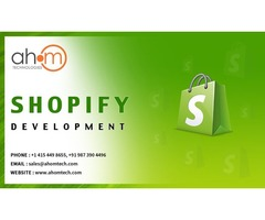Contact top Shopify development company for Shopify App development & Shopify website design