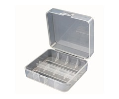 Soshine 2x 26650 Battery Hard Plastic Transparency Storage Case Cover Holder