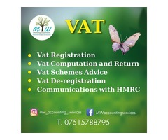 VAT Registration Services by MW Accounting Services