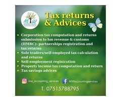 Tax Returns Services by MW Accounting Services