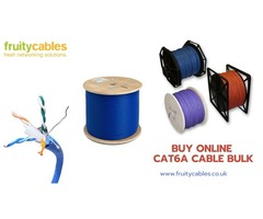 Cat6a Cables in Bulk - FruityCables