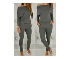 Off Shoulder Bat-Wing Sleeve Jumpsuits | Free-Classifieds.co.uk