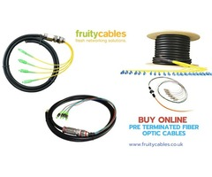 Pre Terminated Fiber Optic Cables - FruityCables
