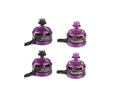 4X Racerstar Racing Edition 2205 BR2205 2600KV 2-4S Brushless Motor Purple For 210 X220 250 280 for