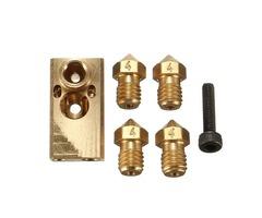 1.75/3.0mm Olsson Block + 4xNozzle + Screw Kit For 3D Printer