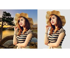 Transparent Background Remove Service Sales for Photographer