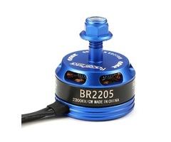 Racerstar Racing Edition 2205 BR2205 2300KV 2-4S Brushless Motor Dark Blue For 220 250 280 RC Drone