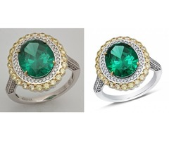 Jewelry Photos Background Change and Clipping Path Service