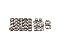HG 1/10 P601 RC Crawller Car Spare Parts Bearing Set 36PCS