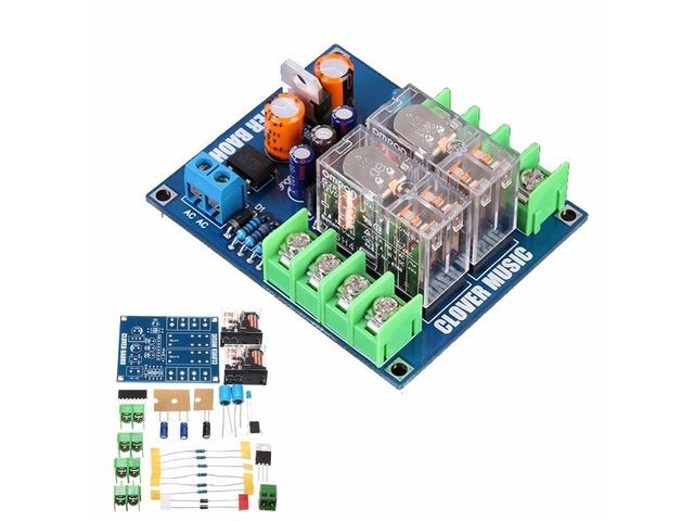 12-24V Dual Relay 7812+UPC1237 Speaker Protection Board Module DIY Kit For HIFI   free-classifieds.co.uk