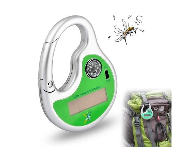 Honana HG-GA2 Garden Sonic Wave Mosquito Repeller Outdoor Portable Solar Power With Compass | Free-Classifieds.co.uk