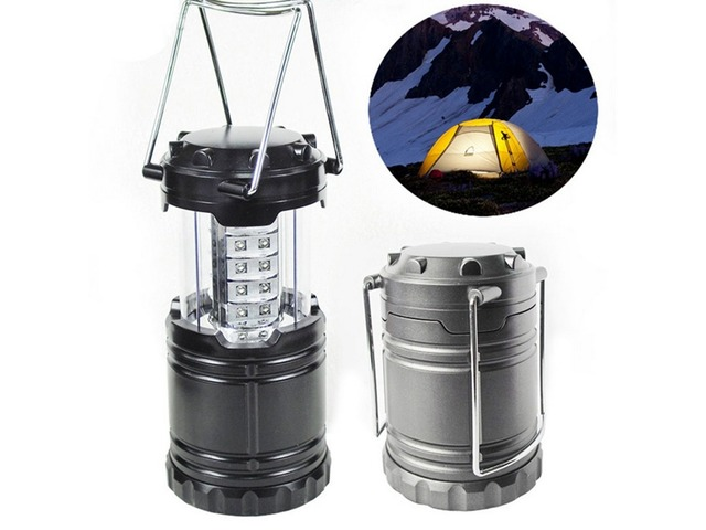 Portable 30 LED Stretchable Lantern Camping Lamp Battery Operated Tent Hiking Light | free-classifieds.co.uk