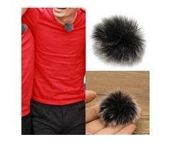 Lapel Microphone Mic Windscreedn Wind Shield Wind Fur Muff For Lapel Lavalier